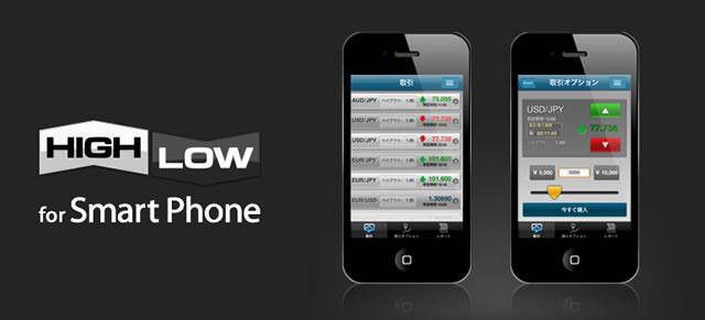 ハイローオーストラリアスマートフォン取引